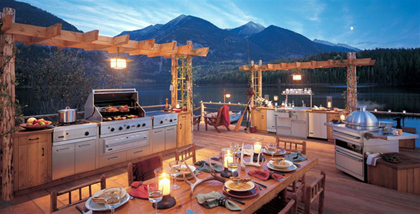 Southwest Outdoor Kitchen
